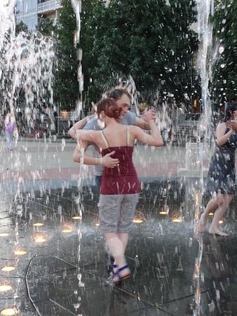 Tango in the Fountain 7-20-14