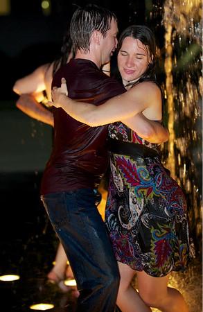 Tango in the Fountain 8-24-13
