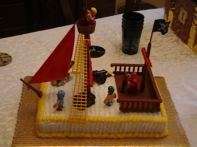 "Birthday Cake - ""Pirates of the Caribbean"""