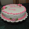 Birthday Cake: Butter-cream frosting