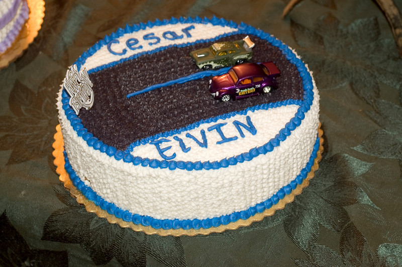 "Birthday Cake - ""Race Cars"""