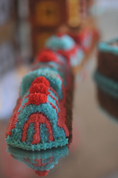 Birthday cake (Trains)