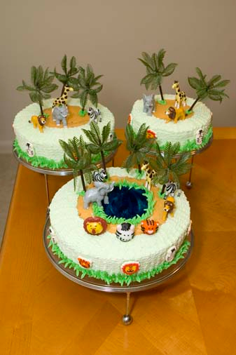 "Baptism/Birthday Cake - ""Moses"""
