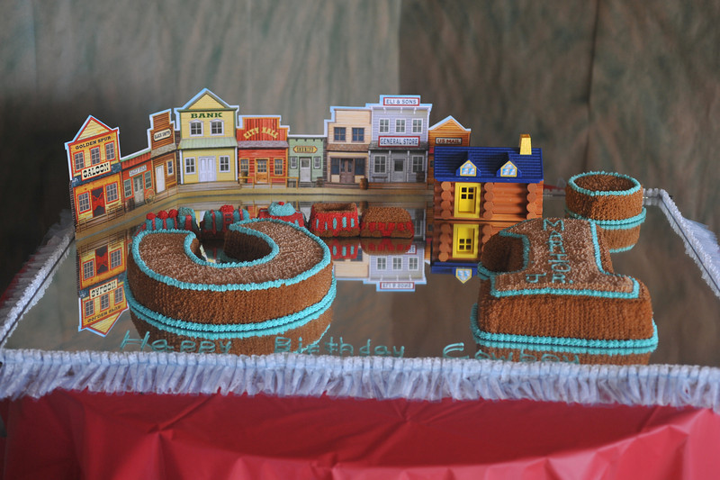 Birthday cake (1st Year) <br /> Theme: Cowboy