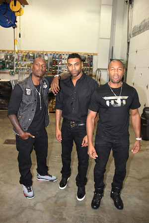 Tank, Ginuwine and Tyrese Album Signing