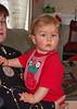 Joshua in Suzi's lap.