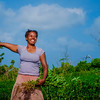 Vanuatu, Tanna, Tanna Farms, Peanut Harvest, 2016 Feb, #36