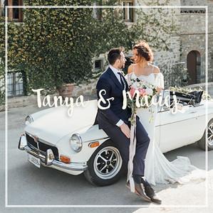 Tanya e Maciej Cover