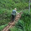 Hike to Mt. Kilimanjaro waterfalls:  a familiar site