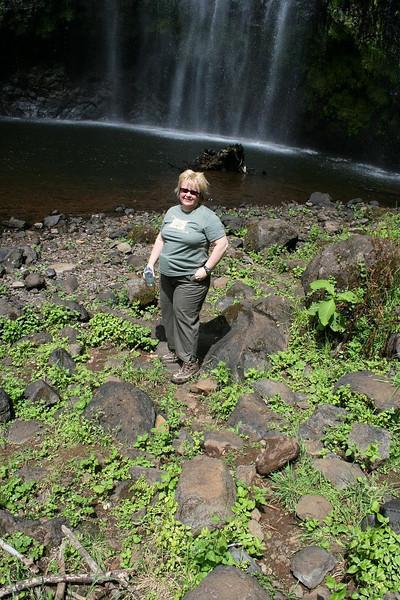 Hike to Mt. Kilimanjaro waterfalls: Here at last!