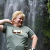 Hike to Mt. Kilimanjaro waterfalls:  the future of fashion modeling