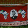 Tanzania honors Obama in Karatu: loosely translated--love & peace will be granted by God