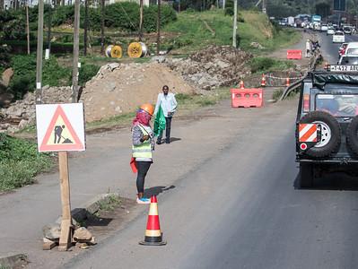 Road in Arusha