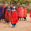 Masai village welcome