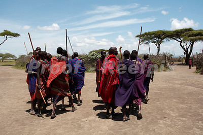 Masai Village, Ngorogoro Conservation Area