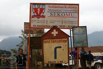 Lushoto To Lukozi  - Usmabara Mountains -  Tanzania _-24