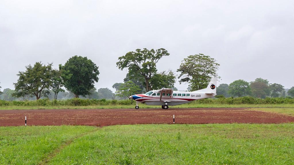Coastal Aviation plane from Arusha to Tarangire National Park - Luxury safaris in Tanzania