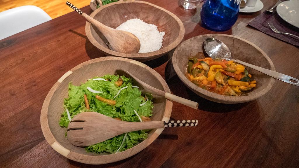 Vegan meals at Lemala Villas in Arusha Tanzania