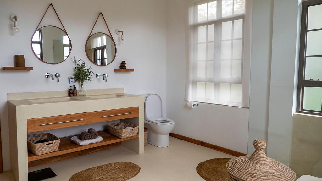 Bathroom at Lemala Villas in Arusha Tanzania