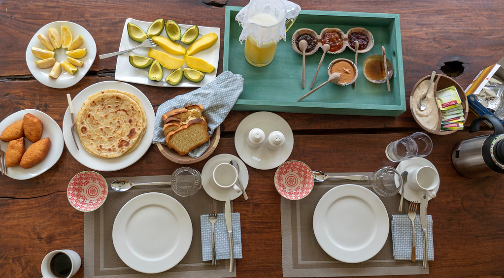 Breakfast at Lemala Villas in Arusha Tanzania