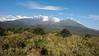 View of Mount Meru and Little Meru, Arusha National Park, Tanzania