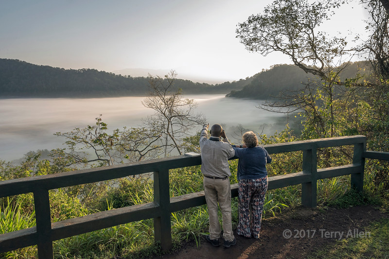 Sunrise, Ngurdoto Crater viewpoint