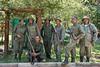 Rangers at Arusha National Park, Tanzania