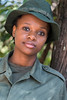 Portrait of a woman Park Ranger, Arusha National Park, Tanzania