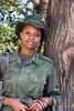 Portrait of a woman ranger