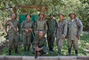 Park rangers at Arusha National Park, Tanzania