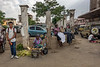 Street vendors, central Arusha, Tanzania