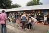 Shopping at the Maasai Market, central Arusha, Tanzania