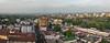 Panoramic shot of Arusha town, early morning, Tanzania