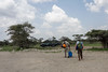 Heading out on safari, Sasakawa airstrip, Serengeti, Tanzania, East Africa