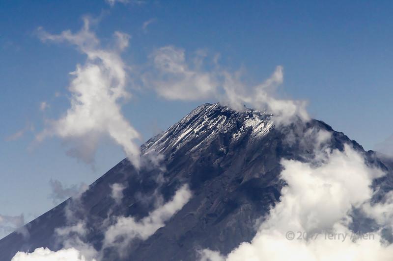 Top of Mount Meru, 14998 ft, Tanzania, East Africa