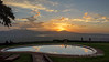 Sunrise by the pool, Ngorongoro Sopa Lodge, Ngorongoro Caldera, Tanzania