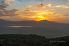 Sunrise over the Ngorongoro Caldera reflected in Lake Magadi, Tanzania