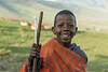 Masai school boy, Ngorongoro Conservation Area, Tanzania