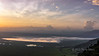 Sunrise with mists over Lake Magadi, Ngorngoro Caldera, Tanzania