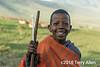 Maasai school boy