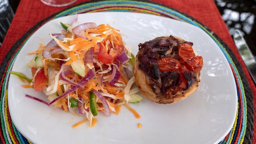 Best Safari in Tanzania: Vegan meals at Lemala Kuria Hills at Serengeti National Park in Tanzania