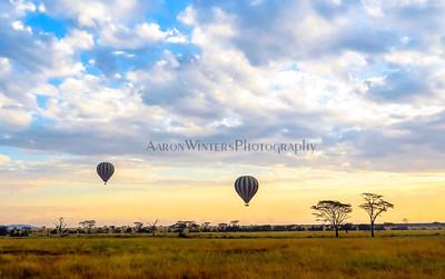 Ballooning The Serengeti