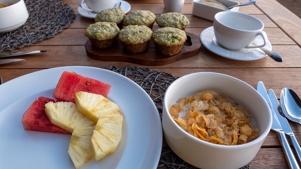 Tanzania Safari: Breakfast at Lemala Mpingo Ridge