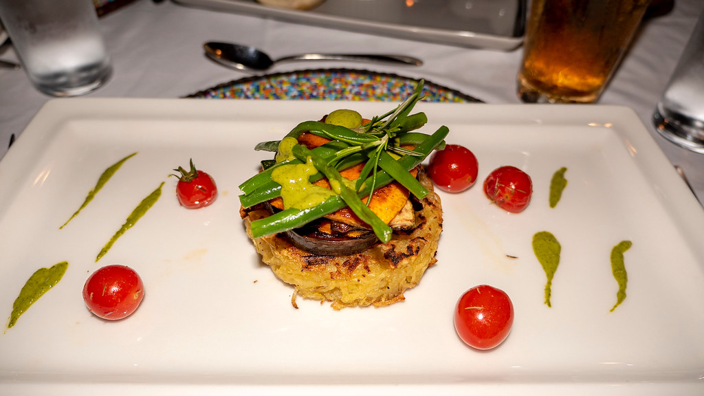 Luxury Tanzania safari - Vegan meal at Lemala Mpingo Ridge