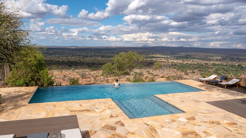 Luxury Safaris: Lemala Mpingo Ridge in Tanzania Infinity Pool