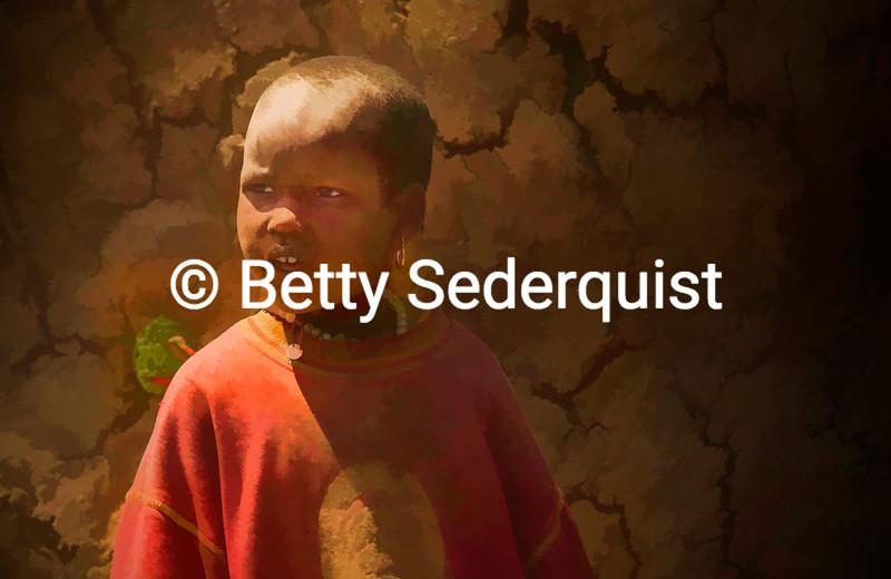 Maasai Child