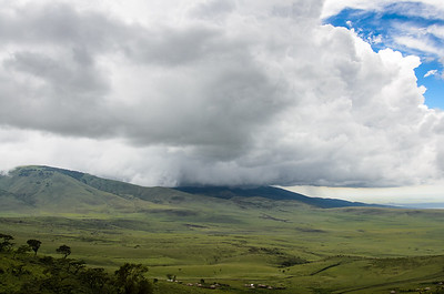 Storm Rolling Over the Serengeti