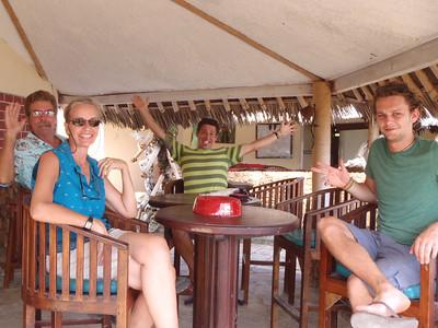 Tis' a WEE' BIT GREENER in TANZANIA-TOWN!!