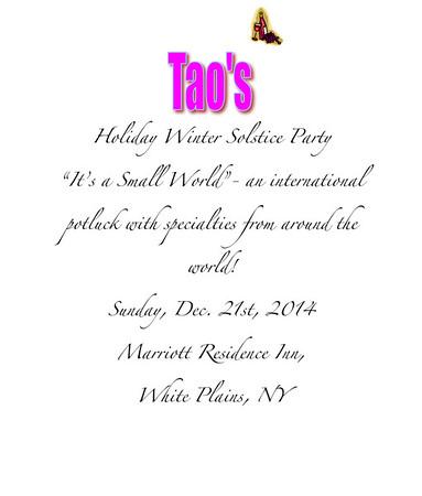 Tao Winter party 2014