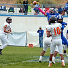 St. Michael's Horsemen ride roughshod over Taos in football game